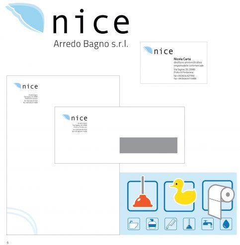 Progettazione di immagine coordinata e catalogo nice arredo bagno riduc - Nice arredo bagno ...